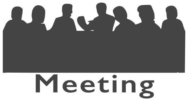 LHS Meeting Thursday 2 May 2019